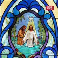 教堂玻璃出口較多廠家之圓博工藝