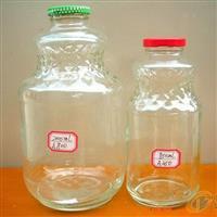 500毫升玻璃饮料瓶 果汁瓶