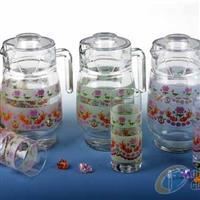 玻璃水壶 玻璃杯 玻璃瓶