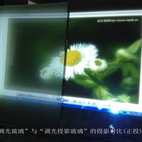NPD调光投影玻璃正投效果