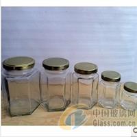 成批出售180ml六棱蜂蜜瓶酱菜瓶