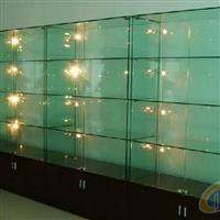揚州鋼化玻璃展示柜定制安裝