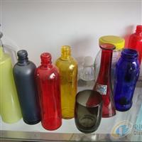 烤花工艺瓶 水烟袋瓶 工艺玻璃