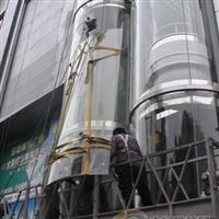 观光电梯玻璃更换维修