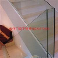 優質不銹鋼中空玻璃欄桿