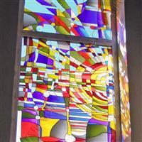 彩晶立线玻璃 装饰用