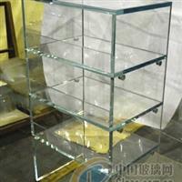 山东金晶超白展示柜玻璃