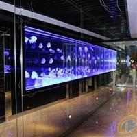 广州彩色内雕发光玻璃