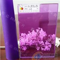 彩色EVA膠片 紫羅蘭透明
