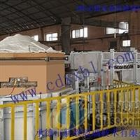 设计建造4吨无铅水晶玻璃电熔炉