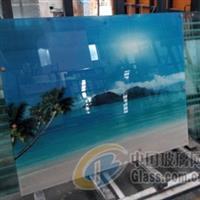 電視玻璃背景墻加工定制