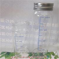 泊头林都现货供应400毫升透明广口高硼硅玻璃瓶