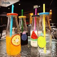 玻璃瓶果汁瓶吸管玻璃瓶,徐州梦飞玻璃制品有限公司,玻璃制品,发货区:江苏 徐州 徐州市,有效期至:2021-02-06, 最小起订:10000,产品型号: