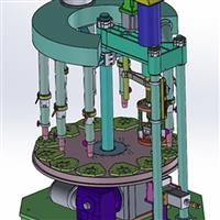 伺服沖壓玻璃壓機