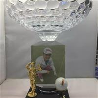 韓國高爾夫人物配件獎杯
