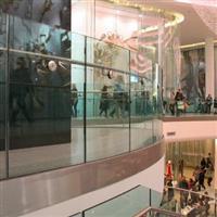 商場用夾膠欄桿玻璃