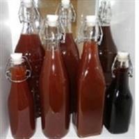 果汁飲料玻璃瓶 酵素瓶保持健康酒瓶