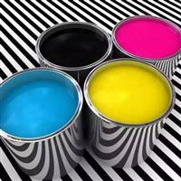 高温钢化玻璃表面油墨