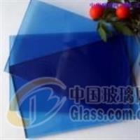 供应出口级宝石蓝玻璃及镀膜玻璃