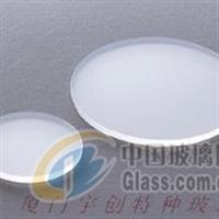 针对波段不同供应激光防护玻璃