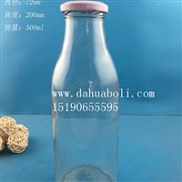 500ml果汁飲料玻璃瓶