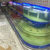 吉阳订做玻璃梯字形海鲜水池鱼缸