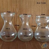 生产玻璃瓶风信子水培花瓶