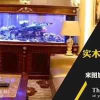 金壇魚缸定做大型水族工程