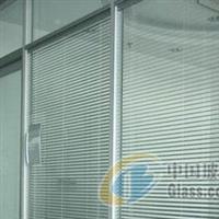 太原安裝中空玻璃百葉隔斷