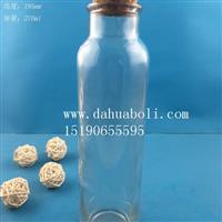 厂家直销280ml冷泡茶玻璃瓶