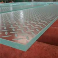 楼梯踏步防滑夹胶玻璃地面玻璃