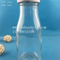 300ml絲口牛奶玻璃瓶