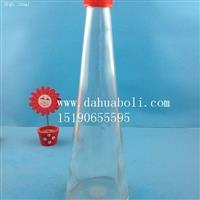 厂家直销350ml锥形果汁饮料瓶