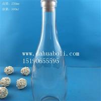 徐州生产500ml白酒玻璃瓶
