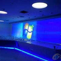 雾化玻璃  通电透明断电磨砂 办公隔断装修价格