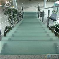 源头厂家10mm防滑玻璃地板 彩釉玻璃 专业定制