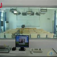 听课室观摩玻璃 微格教室玻璃 录播教室单向玻璃