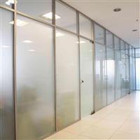 上海闵行区做办公室玻璃门玻璃隔断配钢化玻璃