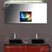 高等酒店魔術鏡鏡面玻璃 防水鏡面電視玻璃