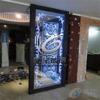 广东激光内雕发光玻璃