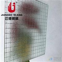 防盗防砸玻璃 夹铁丝玻璃