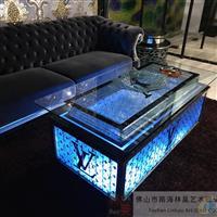 ktv发光茶几 欧式不锈钢桌子