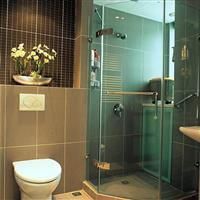安全夹胶淋浴房