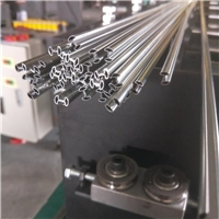鑲嵌門內條外條自動折邊成形銅條機設備