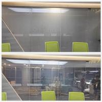 广州欧毅建材公交站雾化玻璃显示屏