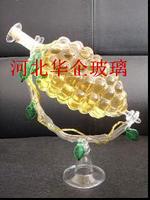葡萄造型酒瓶  手工艺吹制酒瓶 精美手工艺酒瓶