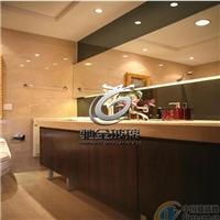 电子防雾镜 浴室镜加工厂 广州驰金特种玻璃