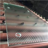 八字形防滑玻璃 圆点防滑玻璃供应