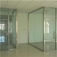 太原玻璃門制作辦公隔斷 安裝更換鋼化換中空玻璃