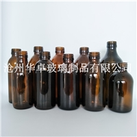 华卓大型玻璃瓶厂家供应多品类药用玻璃瓶 医药玻璃瓶